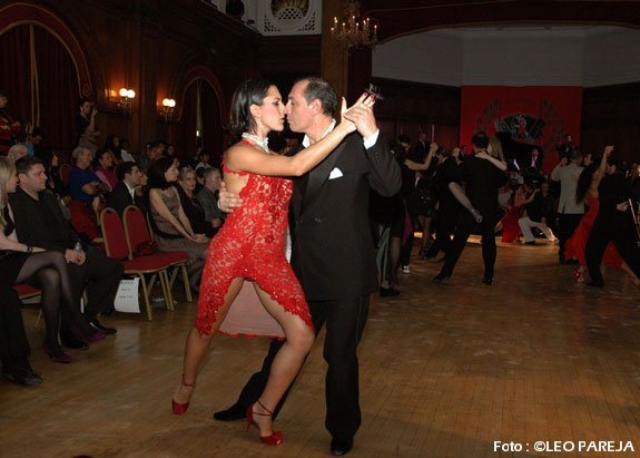 OSVALDO ZOTTO Y GISELE AVANZI @ 5TH LONDON TANGO FESTIVAL
