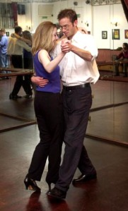 Matt Devine 07968 869662/ 01732 463065 Dominic Utton learns to dance the Tango.