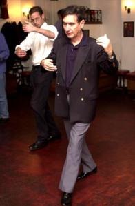 Matt Devine 07968 869662/ 01732 463065 Dominic Utton learns to dance the Tango.