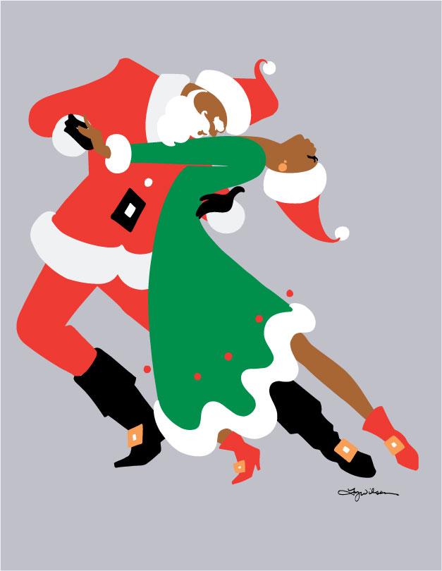 black-santa-tango
