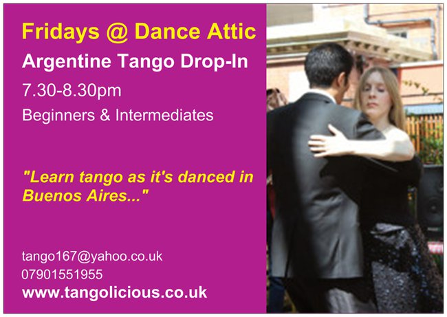 Danceatticppostacard